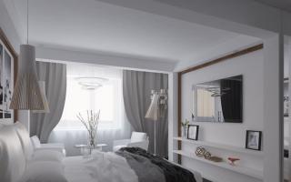Дизайн спальни 20 кв. м (54 фото): интерьер и дизайн-проект спальни