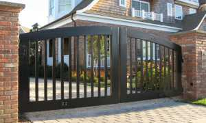 Ворота (119 фото): красивые универсальные модели для частного дома и дачи