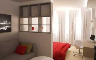 Дизайн спальни-гостиной 20 кв. м (60 фото): современный дизайн интерьера совмещенной комнаты