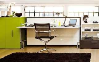 Письменный стол-трансформер: раскладные модели с комодом или поворотной кроватью для дома