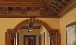 Деревянные арки (37 фото): межкомнатные арки для дверных проходов из дерева, варианты для проемов в домах и квартирах