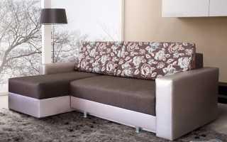 Угловой диван-еврокнижка (24 фото): мебель с механизмом трансформер и пружинным блоком