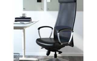 Компьютерное кресло Ikea: модель кожаного стула-кресла для компьютера Мarkus, отзывы