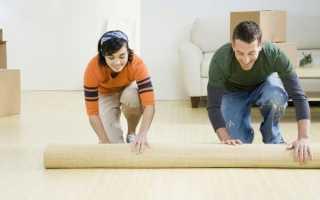 Подложка под ковролин: материал на войлочной или джутовой основе на бетон или деревянный пол