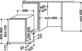 Встраиваемая посудомойка Bosch 45 см: встроенная модель с габаритами 40 см и отзывы