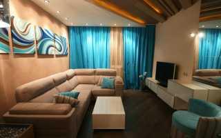 Дизайн гостиной в хрущевке: 20 фото идей