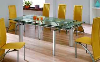 Раздвижной кухонный стол (114 фото): обеденный белый уголок на одной ноге для кухни