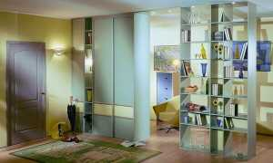 Шкафы-перегородки (36 фото): двусторонние модели для разделения комнаты на две части