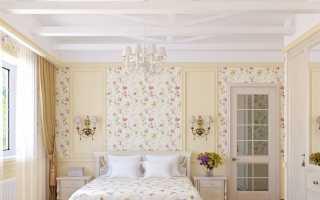 Обои для спальни в стиле «Прованс» (56 фото): примеры в интерьере