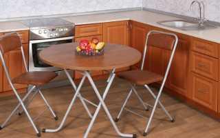 Деревянные складные столы: выбор раскладного стола из массива дерева