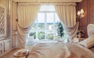Шторы в спальню (116 фото): дизайн занавески, модные красивые портьеры