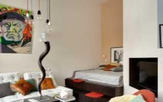 Планировка квартиры студии 50 кв. м (68 фото): дизайн интерьера кухни для 42, 45 и 54 кв. м