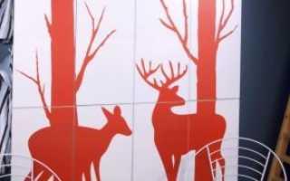 Наклейки на плитку: на кафельную и керамическую, декоративные виниловые варианты