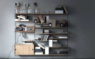 Стеллаж в гостиную (55 фото): красивые угловые модели в современном стиле для телевизора и книг в интерьере