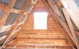 Чердачное перекрытие: устройство гидроизоляции по деревянным балкам, теплотехнический расчет – пример