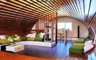 Дизайн интерьера мансарды в частном доме (82 фото): оформление этажа мансардной комнаты, варианты декора крыши