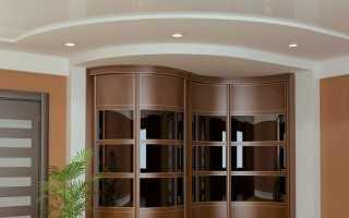 Радиусные шкафы (49 фото): модели в спальню и в гостиную с полукруглыми дверями
