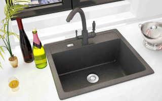 Черная мойка для кухни (46 фото): квадратная раковина с черным краном в интерьере