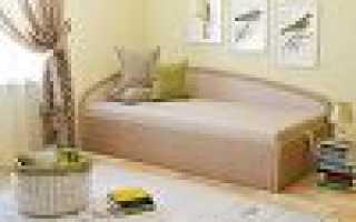 Угловая тахта: диван с подъемным механизмом 140х200 и 120х200