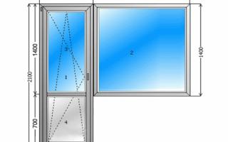 Балконные двери (68 фото): деревянные и стеклянные модели различной ширины с окном, стандартные размеры проема