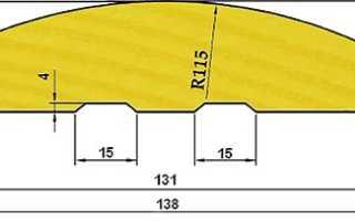 Размеры блок-хауса: толщина и ширина материала под бревно для внутренней отделки