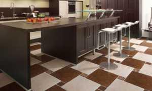 Керамогранит на пол для кухни (74 фото): варианты и комбинации дизайна