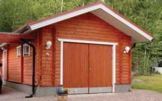 Размер гаража на 1 машину: минимальные и оптимальные метражи в частном доме
