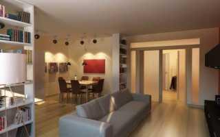 Зонирование кухни и гостиной (59 фото): идеи дизайна комнаты 18 кв. м