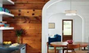 Отделка стены кухни ламинатом (24 фото): дизайн