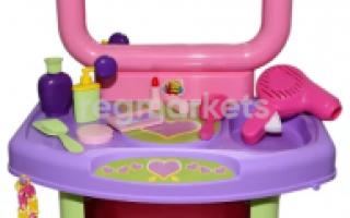 Туалетный столик с зеркалом для девочки (72 фото): детский стол для подростка
