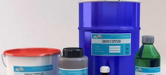 Тиоколовый герметик: что такое полисульфидный грметик, технические характеристики продукции У-30М и УТ-32
