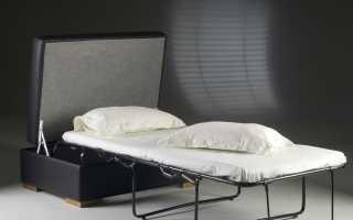 Пуф-трансформер со спальным местом: раскладной пуфик, отзывы
