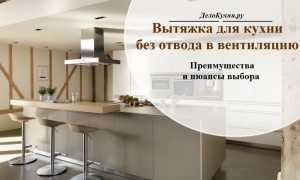 Вытяжка для кухни без воздуховода (61 фото): виды и особенности