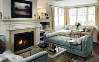 Гостиная с камином и телевизором (55 фото): как разместить в небольшой квартире стенку с камином