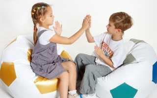 Бескаркасные детские кресла (27 фото): мягкое кресло-мешок для детей в комнату, отзывы