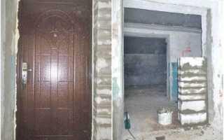 Установка входных дверей своими руками: фото, видео инструкция