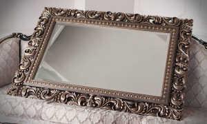 Рама для зеркала (37 фото): кованая рамка для зеркальца своими руками, как сделать конструкцию из дерева и потолочного плинтуса