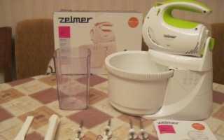Миксер Zelmer с чашей: отзывы о моделях с блендером