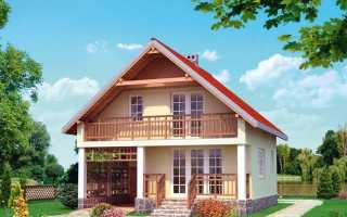 Проекты домов с мансардой (89 фото): красивые примеры оформления внутри и снаружи, планировка мансардных дачных домиков 6х6
