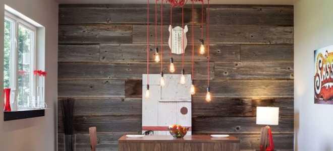 Ламинат на стену для кухни (46 фото): интерьер с ламинатом