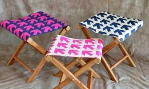 Складной стул своими руками: как сделать раскладной стул со спинкой из фанеры
