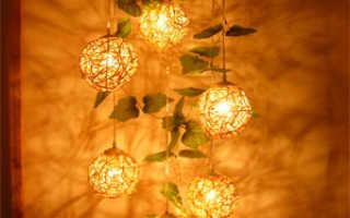 Необычные светильники (51 фото): оригинальные модели из дерева для комнаты и сада