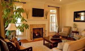 Дизайн гостиной с камином в доме (49 фото): интерьер каминного зала в деревянном частном загородном коттедже