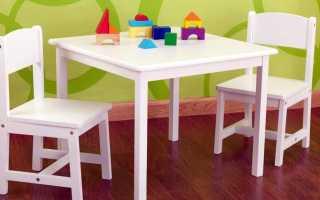 Деревянный детский стол: столики Ikea из массива дерева для ребенка, модели