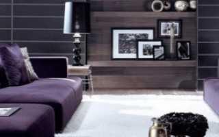 Фиолетовый диван (51 фото): сиреневый и темно-фиолетовый цвета в интерьере, экокожа и бархатный