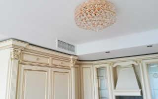 Короб для вытяжки на кухне (52 фото): модели пластиковые и из гипсокартона
