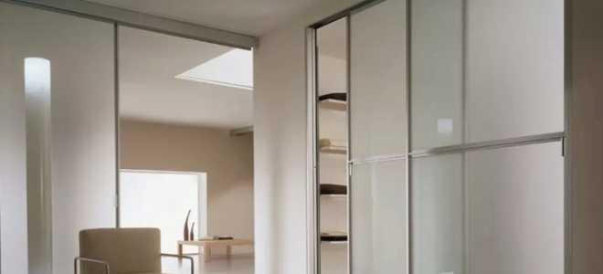 Раздвижные двери для гардеробной (75 фото): как самому сделать зеркальные и стеклянные двери типа купе в комнату