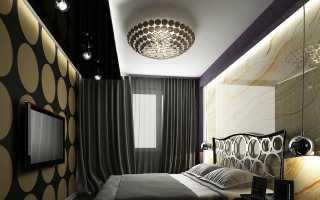 Потолочные светильники в спальню (26 фото): как расположить в интерьере
