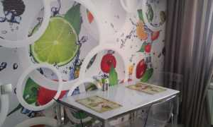 Фотообои для кухни (80 фото): современные идеи и дизайн помещения