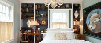 Стеллаж для спальни (25 фото): как оформить